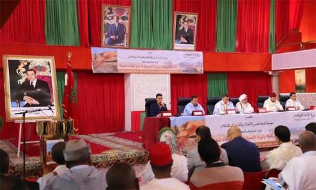 Conférence sur le rôle des zaouïas sahraouies dans le renforcement de l'unité nationale