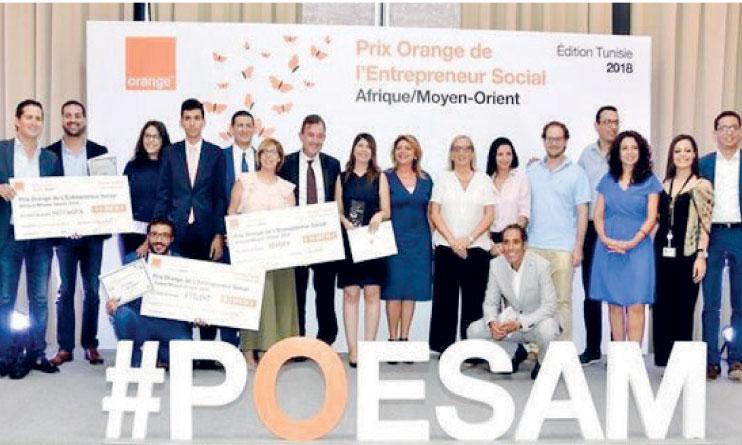 Le POESAM récompense les projets les plus innovants associés à l'utilisation croissante du mobile et présentant des opportunités prometteuses en termes d'impact social.