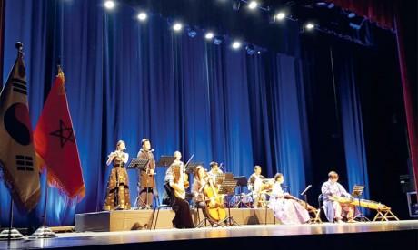 Soirée musicale aux saveurs coréenne  et marocaine