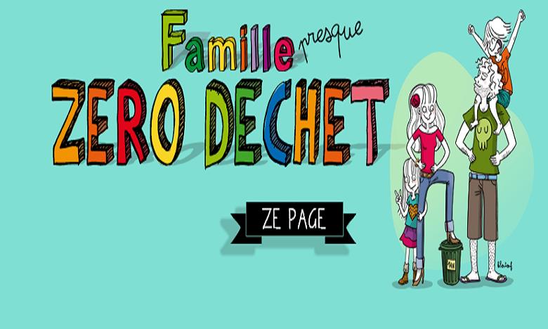 La famille « presque » zéro déchet à publié son troisième guide intitulé « Famille en transition écologique ». Ph: DR.