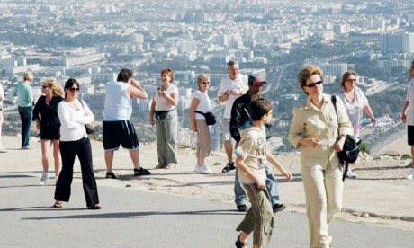 Plus de 1,59 million  de touristes à fin février