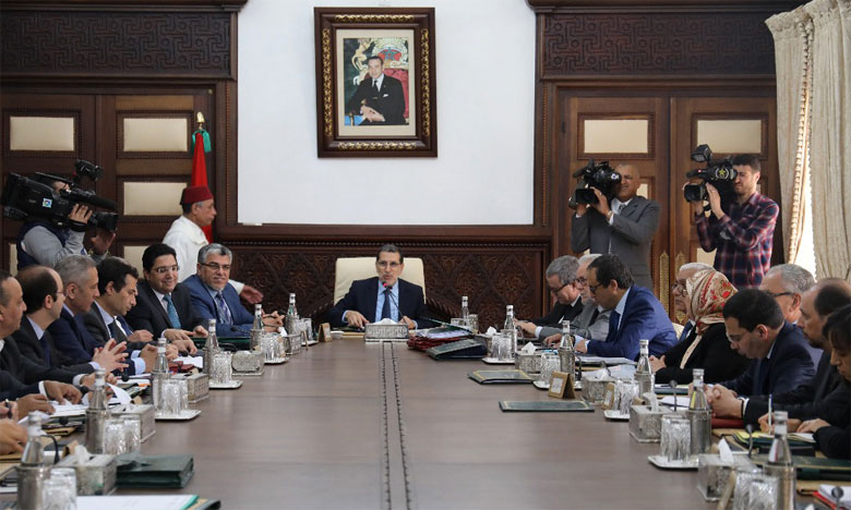 Réunion, jeudi à Rabat, du Conseil de gouvernement sous la présidence du Chef du gouvernement, Saâd-Eddine El Othmani.