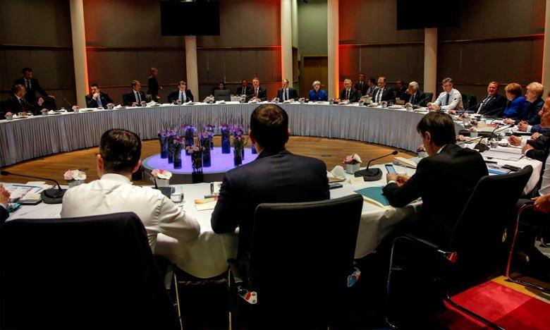 L'offre sur laquelle les 27 Etats membres de l'UE se sont mis d'accord a été acceptée par la Première ministre britannique, Theresa May. Ph. AFP