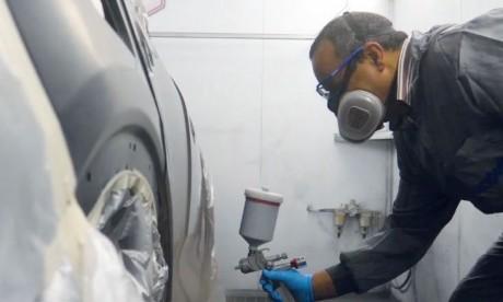 La peinture R-M fête ses 100 ans  avec Volvo Maroc