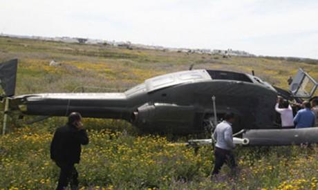 Crash d'un hélicoptère des FAR dans le sud du Royaume : deux morts parmi les membres de l'équipage