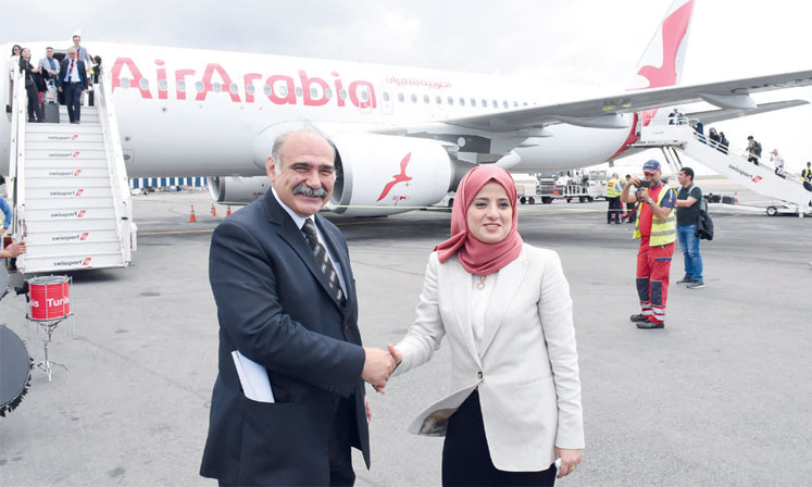 Air Arabia relie Casablanca  à Prague