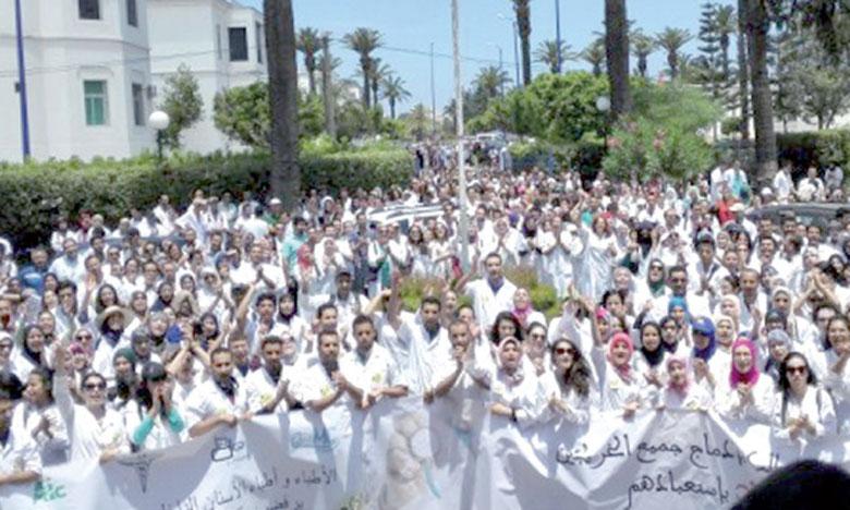 Une nouvelle grève annoncée pour jeudi prochain par  les médecins du secteur privé