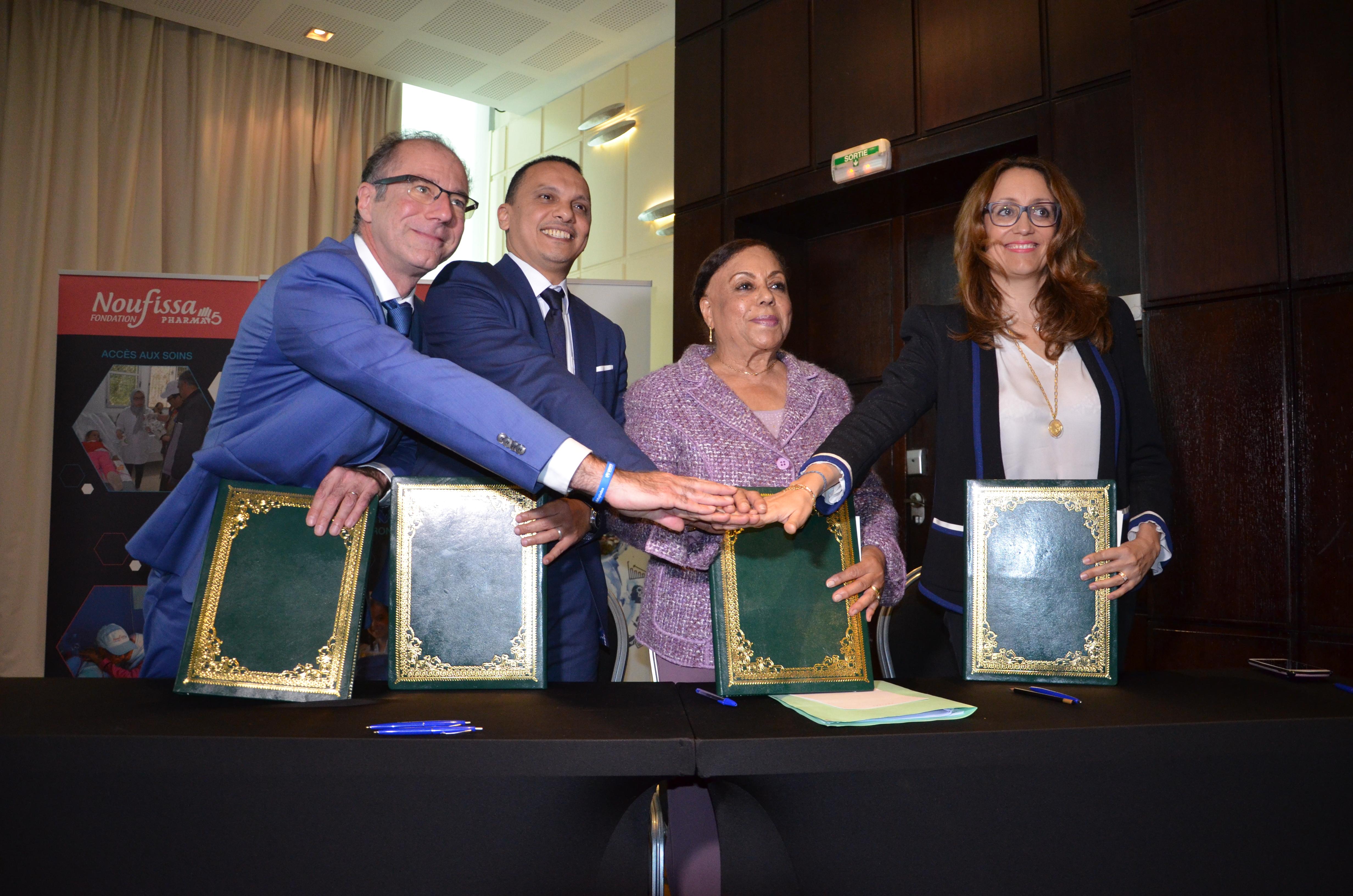 Signature d'une convention quadripartite en faveur des réfugiés