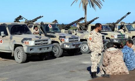 Au moins 121 morts depuis  le déclenchement des hostilités  au sud de Tripoli