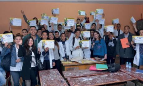 1.760 jeunes collégiens initiés à l'entrepreneuriat