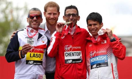El Amin Chentouf remporte  la médaille d'or