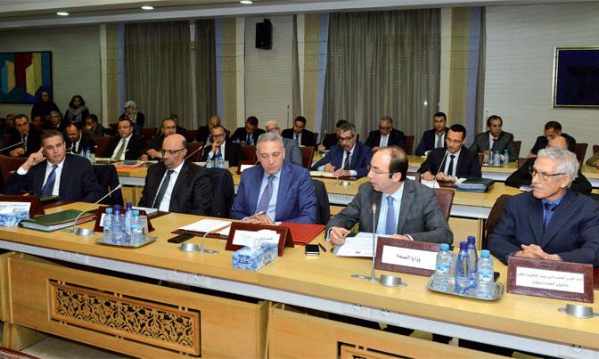 Réunion de coordination à Rabat sur le suivi de l'approvisionnement du marché et des prix et le renforcement des interventions des services de contrôle