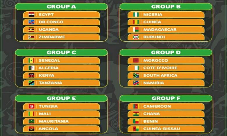 Le Maroc logé dans le groupe de la mort, avec la Côte d'Ivoire, l'Afrique du Sud et la Namibie