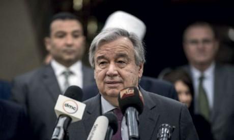 Le secrétaire général  de l'ONU à Tripoli pour  soutenir le processus politique