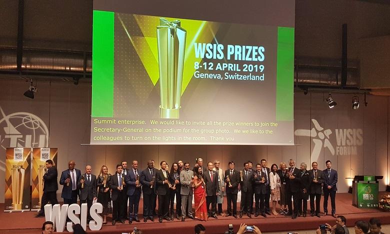 Dix-sept autres projets se sont vus décerner le prix WSIS 2019. Ph. DR