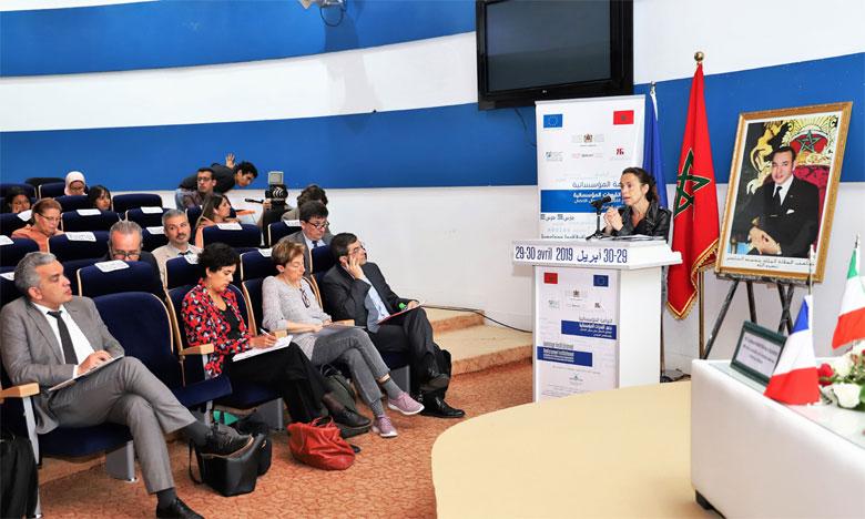 Présentation à Rabat du bilan à mi-parcours du jumelage institutionnel pour le renforcement  de la communication et de l'audiovisuel