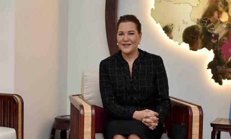 """S.A.R. la Princesse Lalla Hasnaa préside à Rabat l'inauguration de l'exposition """"Les couleurs de l'impressionnisme: chefs d'oeuvre des collections du Musée d'Orsay"""""""