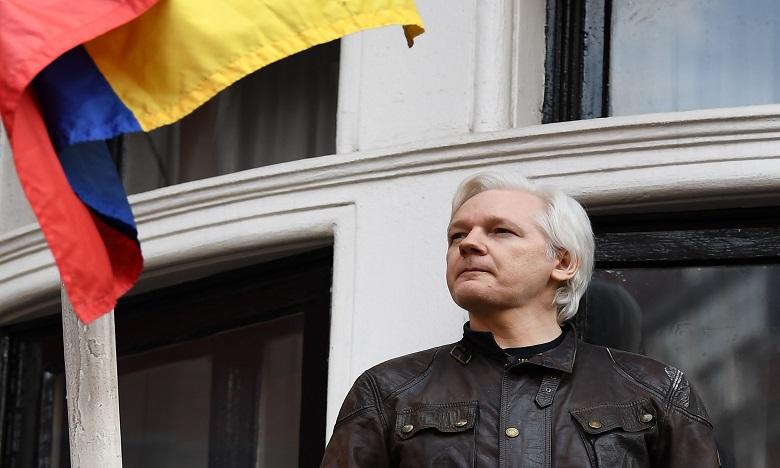 Julian Assange comparaîtra devant le tribunal de Southwark. Ph. AFP