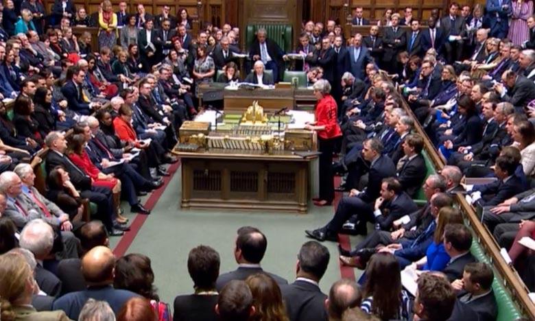 La Première ministre Theresa May,a assuré qu'elle continuerait à plaider en faveur d'un Brexit ordonné. Ph : AFP