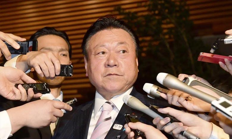 Le ministre japonais chargé des JO remplacé