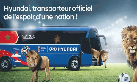 Transporteur officiel des Lions de l'Atlas