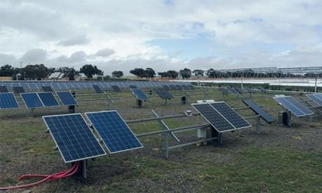 Le «Green Energy Park» de Benguérir, inauguré en Janvier 2017, est dédié à l'énergie solaire photovoltaïque et thermique à concentration. Ph. Seddik