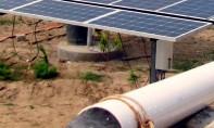 Cet atelier de sensibilisation a pour objectif d'informer sur les atouts et les avantages du pompage solaire. Ph : DR