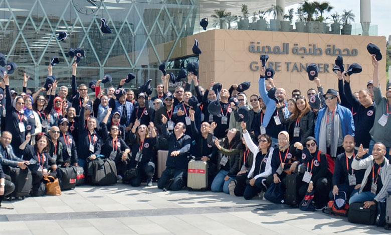 La compagnie d'assurances Sanad a emprunté  Al Boraq pour la convention de ses agents.