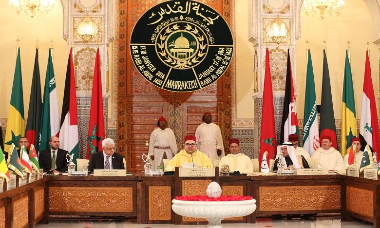 S.M. le Roi décide de consacrer une subvention financière à la restauration et à l'aménagement de certains espaces de la mosquée Al Aqsa et de son environnement