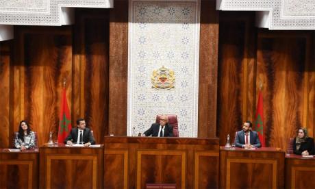 Ouverture de la deuxième session de la troisième  année législative 2018-2019