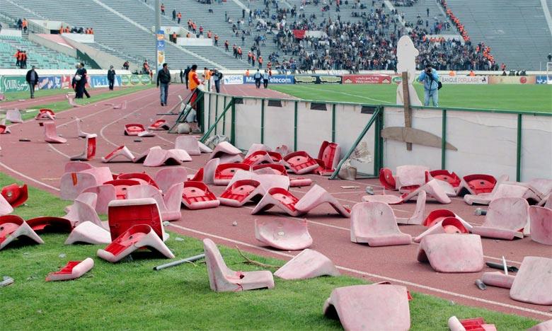Match AS. FAR-RSB  : Des incidents de violence aux derniers instants