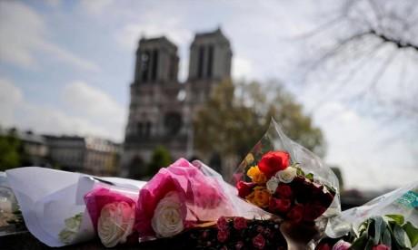 Les sommes globales des dons ou promesses de dons sont bien plus élevées, incluant les contributions de différents mécènes à l'Etat français. Ph : AFP