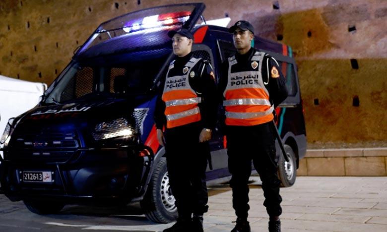 DGSN  : un brigadier de police contraint d'utiliser son arme de service pour arrêter deux multirécidivistes à Rabat