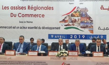 Le commerce contribue à hauteur de 68%  au PIB de la région