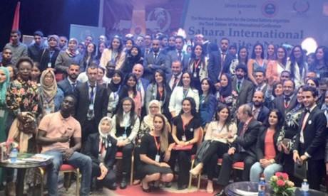 Ouverture de la troisième conférence du «Sahara International Model United Nations»