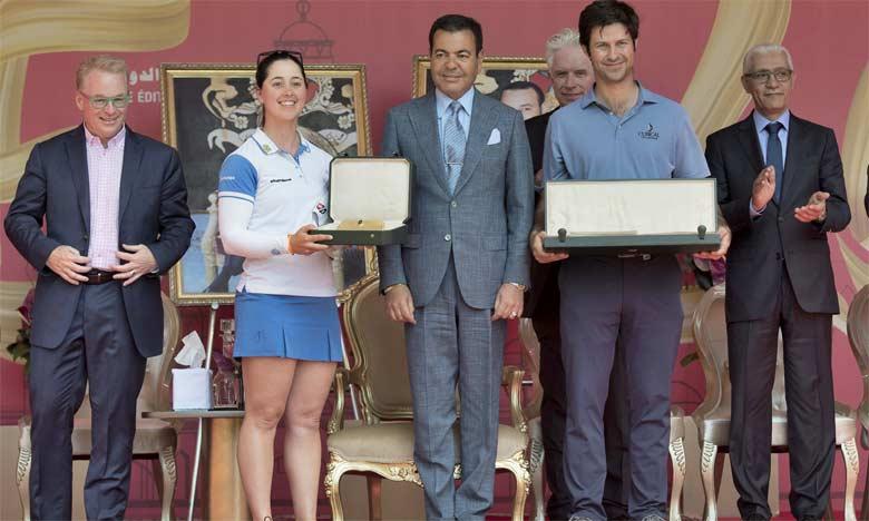 S.A.R. le Prince Moulay Rachid préside  à Rabat la Cérémonie de remise des Prix de la 46e édition du Trophée Hassan II et de la 25e édition de la Coupe Lalla Meryem de golf
