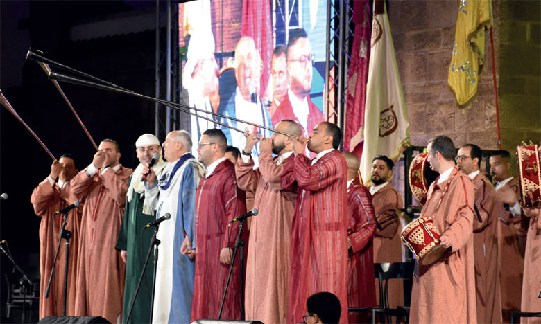 Le festival a offert au public une ambiance Aissaoui maghrébine.     Ph. Seddik