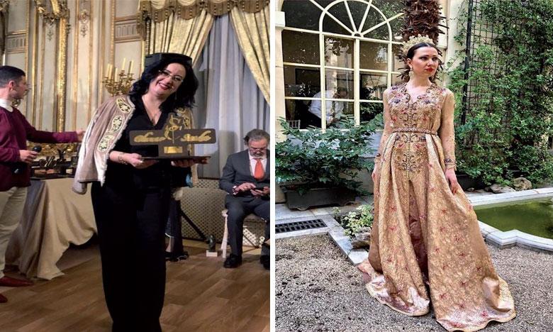 «Le caftan fait partie de l'identité marocaine et sa confection reflète toute la richesse et la beauté de la culture de notre Royaume séculaire», affirme Saïda Chemao.