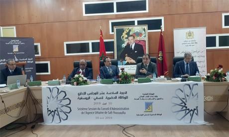 L'Agence urbaine de Safi-Youssoufia approuve le Plan d'action 2019
