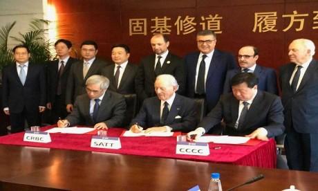 Cité Mohammed VI Tanger Tech : SATT scelle un partenariat avec la Chine