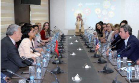 Une délégation du think tank américain «Meridian International Center» explore à Rabat les opportunités de coopération bilatérale