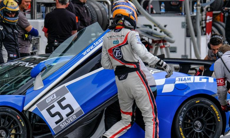 Michael Benyahia termine en deuxième position au volant de McLaren