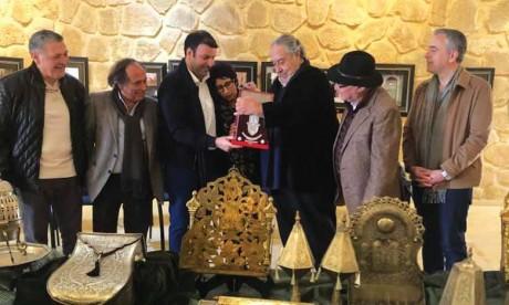 «J'espère pouvoir encourager d'autres collectionneurs ou particuliers à contribuer à la culture marocaine en donnant des œuvres»