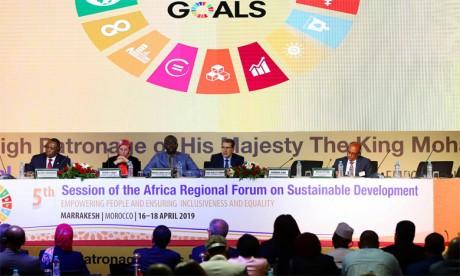La Déclaration de Marrakech appelle au renforcement de la coopération Sud-Sud
