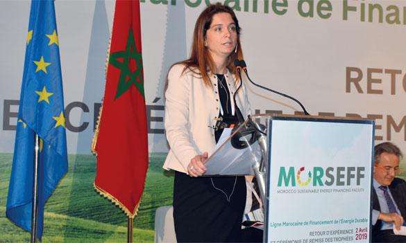 «Avec des banques partenaires, nous avons démontré le bien-fondé d'investir dans des technologies plus performantes qui contribuent également à réduire les émissions de gaz à effet de serre», a déclaré la directrice de la BERD pour le Maroc, Marie-Alexandra  Veilleux-Laborie. Ph. Sradni