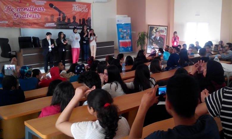 Le concours est destiné à développer les compétences orales des lycéens. Ph : DR