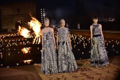 La maison Dior présente sa collection Croisière à Marrakech