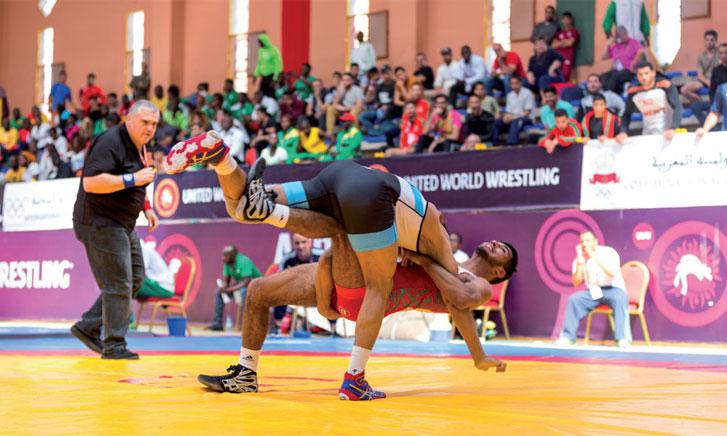 Les lutteurs nationaux décrochent trois médailles  au terme des ultimes sessions