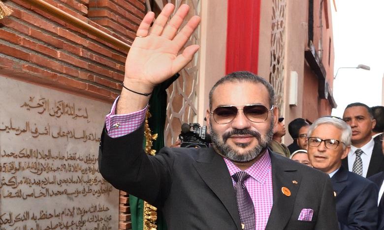 S.M. le Roi lance à Rabat les travaux de construction du nouveau siège de la DGSN