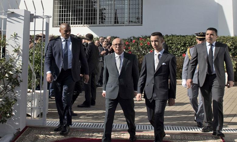 S.A.R. le Prince Héritier Moulay El Hassan préside à Salé la cérémonie d'inauguration de la frise chronologique de la Fondation Abou Bakr El Kadiri pour la pensée et la culture